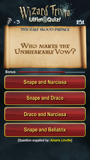 Harry Potter Wizard Quiz: U8Q 2.0.1 Screenshots 3