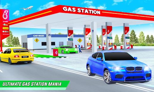 Gas Station Car Driving Simulator Car Parking Game  Screenshots 1