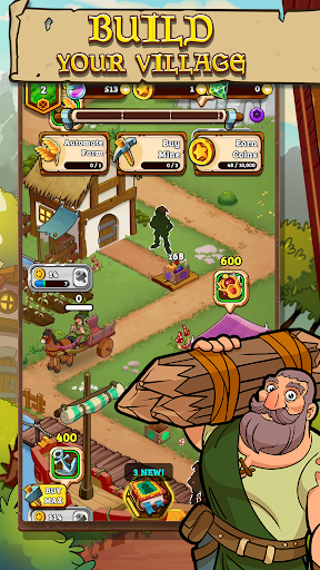 Royal Idle: Medieval Quest 1.27 screenshots 1