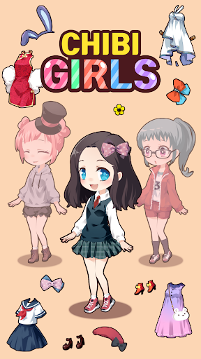 Chibi Girls - Doll Creator  screenshots 1