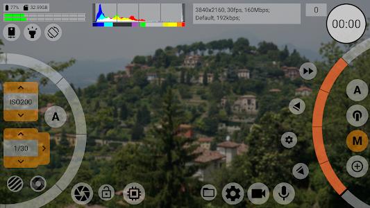 mcpro24fps - professional manual video camera app ideo camera app037 (Paid)