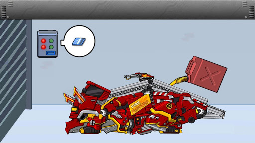 Triceratops - Combine! Dino Robot Fire Truck Squad  screenshots 12
