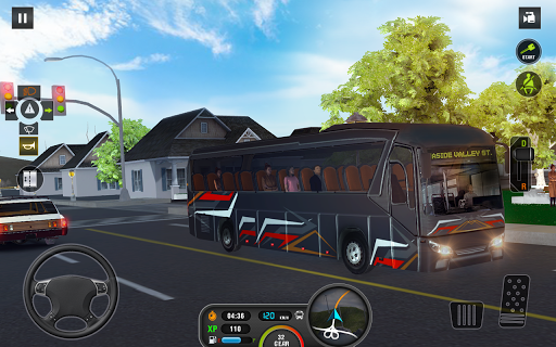 Coach Bus Simulator - City Bus Driving School Test 2.1 screenshots 19