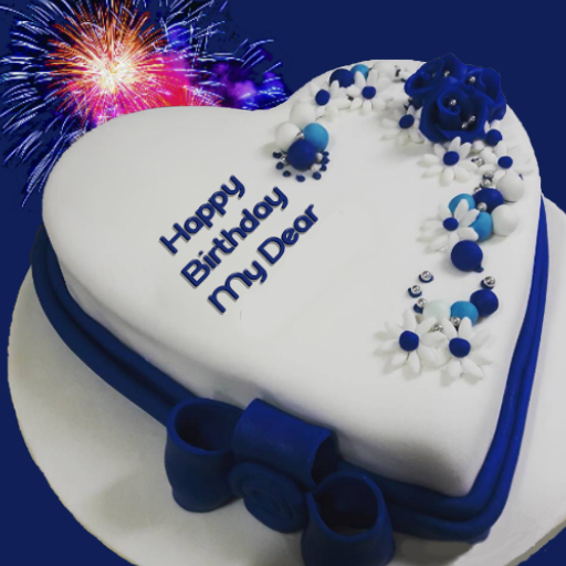 Birthday Cake With Name And Photo Birthday Quotes Apps Op Google Play