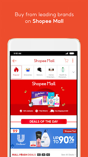 Shopee PH: 9.9 Shopping Day android2mod screenshots 6