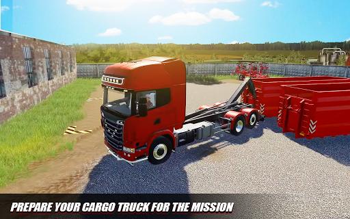 Euro Cargo Truck Simulation 3D Truck Driving Games 1.0 screenshots 2