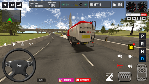 IDBS Truk Tangki 4.0 screenshots 5