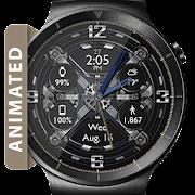 Mechani-Gears HD Watch Face Widget Live Wallpaper