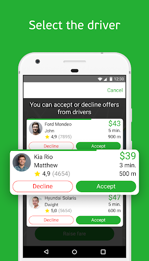 inDriver — Better than a taxi  screenshots 2