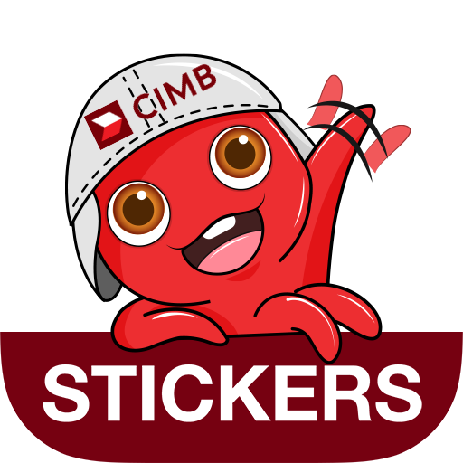 Octo Stickers By Cimb Apps On Google Play