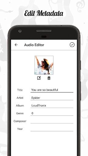 Audio Editor : Cut,Merge,Mix Extract Convert Audio 1.22 Screenshots 4