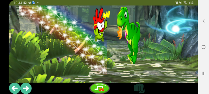 Om nom vs dinosaur Paid Apk For Android 3