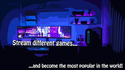 Streamer Simulator. Road to success screenshots 2