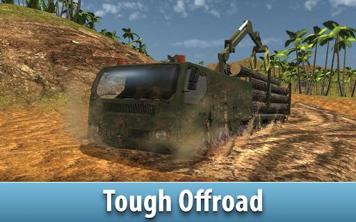 jungle logging truck simulator screenshot 3