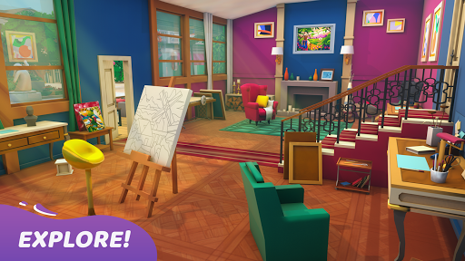 Gallery: Coloring Book by Number & Home Decor Game screenshots 1