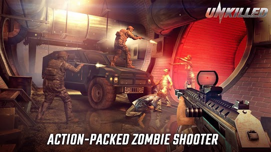 UNKILLED – Zombie Games FPS 2.0.11 Apk + Data 1