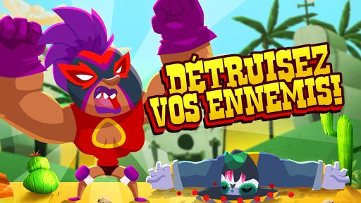 Code Triche UFB Lucha Libre: Fight Game (Astuce) APK MOD screenshots 4