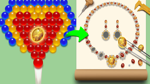 Bubble Shooter Jewelry Maker 4.0 screenshots 5