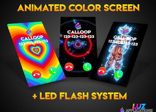 Color Screen Phone, Call Flash Themes - Calloop 3.4 Screenshots 7