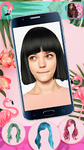 Hairstyle Camera Beauty : Hair Changer Photo Edit 1.2 Screenshots 17