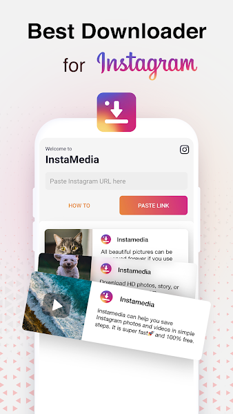 Photo, Video, IGTV and Story Downloader for IG