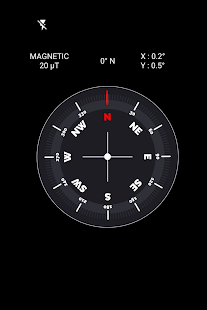 Extreme digital compass:magnetic compass app free