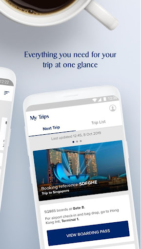 Singapore Airlines screenshots 2