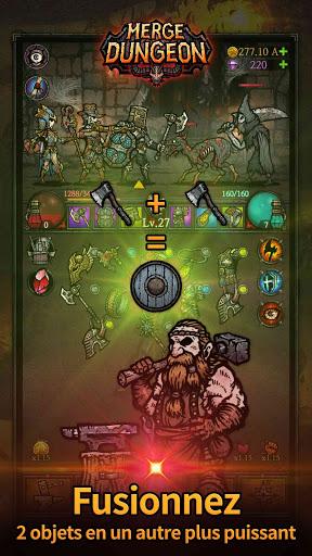 Code Triche Merge Dungeon APK MOD  (Astuce) screenshots 1