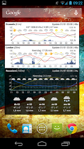 Meteogram Weather Widget – Donate version v2.3.17 MOD APK 5
