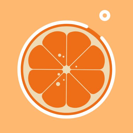 A delicious Orange Pixel T