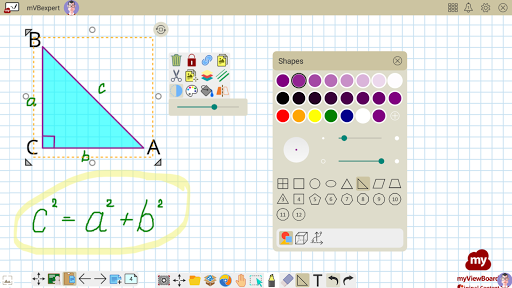 myViewBoard Whiteboard - Your Digital Whiteboard android2mod screenshots 6