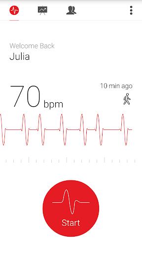 Cardiograph - Heart Rate Meter 4.1.3 Screenshots 2