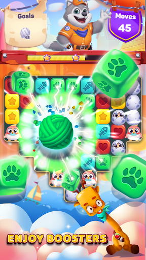 Pet Blast Puzzle - Rescue Game 1.1.0 screenshots 1
