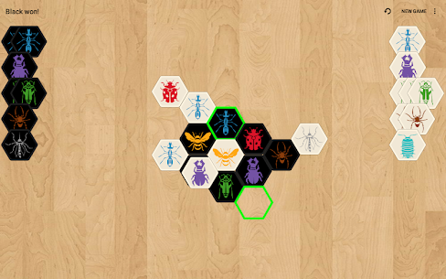 Hive with AI (board game) 10