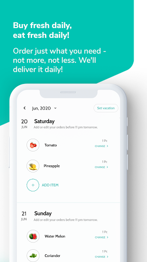 Supr Daily - Online Milk & Grocery Delivery App android2mod screenshots 3