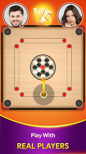 Carrom board game - Carrom online multiplayer 18 screenshots 1