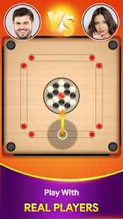 Carrom board game - Carrom online multiplayer 22 screenshots 1