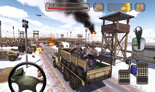 New Army Truck simulator: Free Driving Games 2021 2.0.19 screenshots 8