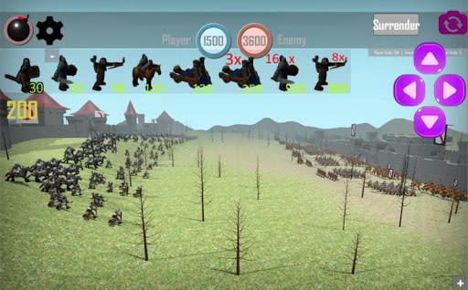 MEDIEVAL BATTLE 3D: THE GREAT CONQUEROR 2.5 screenshots 2