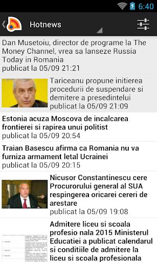 Stiri din Romania 4.9.0 Screenshots 1