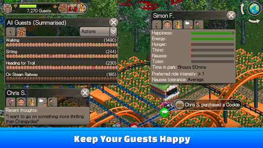 RollerCoaster Tycoon® Classic Apk Download 4
