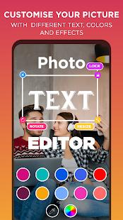 Text On Photo & Photo Text Editor : Texture Art