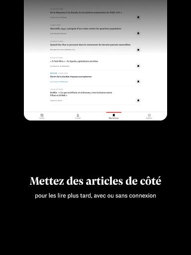 Mediapart, journal indu00e9pendant  Screenshots 9