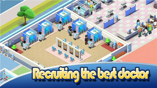 Idle Hospital Tycoon - Doctor and Patient  screenshots 5