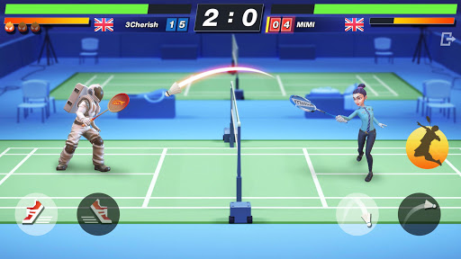Badminton Blitz - Free PVP Online Sports Game 1.1.12.15 screenshots 2