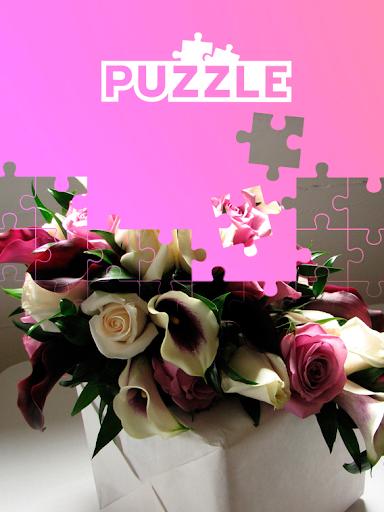 tile puzzle flowers bouquet screenshot 1