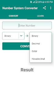 Number System: Learn & Convert with Details Screenshot