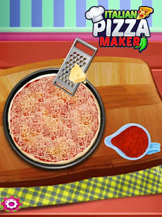 italian pizza game - pizza cooking games for kids