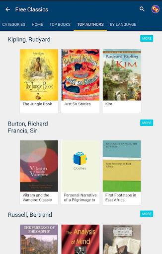 50000 Free eBooks & Free AudioBooks 5.40 Screenshots 12