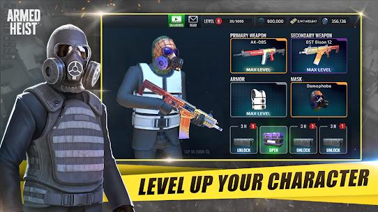 Armed Heist TPS 3D Sniper shooting gun games 5